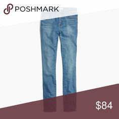 """Madewell 10"""" High-rise Skinny Jeans 