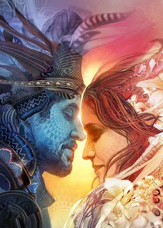 'Union' ~by Android Jones - (detail)