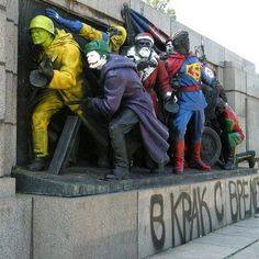 Art in the Streets of Sofia-Soviet Army monument , Bulgaria1