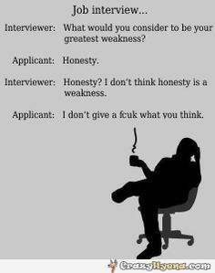 A+funny+conversation+on+a+job+interview+with+someone+who+has+a+problem+with+being+honest
