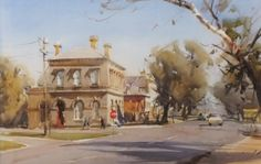 Home - Ross Paterson Watercolor Artists, Watercolor Portraits, Watercolor Landscape, Landscape Paintings, Watercolor Paintings, Watercolours, Landscapes, Australian Painting, Australian Artists