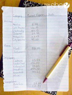 Budget like a Pro! 8 Budget Basics that anyone can Master! #budgeting #finances #howdoesshe