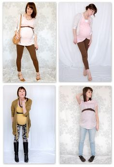 I want to get pregnant again and wear cute clothes this time...I was pregnant in the mu-mu fashion era :(
