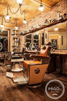 #rustic #antic #barber shop