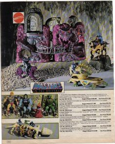 Masters of the Universe - Argos catalogue