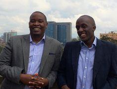 Ivan Mbowa and Munyutu Waigi from Umati Capital 2