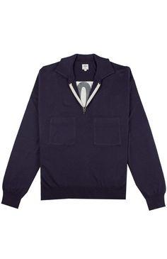 John Smedley x Umbro Sportswear - Field Sweater £175