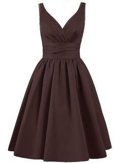 40a331aeff52 BARDOT Dress - Chocolate Brown Fancy Wedding Dresses