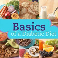 Basics of a Diabetic Diet