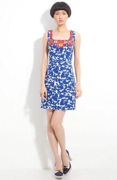 Milly 'Jane' Beaded Batik Print Dress