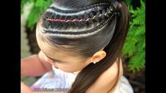 Modern Hairstyles For Women Pony Hairstyles, Cute Girls Hairstyles, Princess Hairstyles, African Hairstyles, Great Hairstyles, Fall Hairstyles, Modern Hairstyles, Girls Braids, Braids For Kids