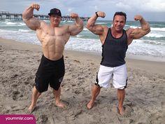 Flex Lewis and Rich Gaspari