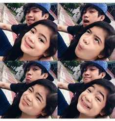 Ohh cute!!! Ranz Kyle and Niana Guerrero ❤❤❤ #ranzandniana #ranzkyle #nianaguerrero #dancer #youtuber #celebrities #siblingsgoals #brothersister