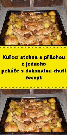Czech Recipes, Krabi, Food And Drink, Beef, Chicken, Meat, Steak, Cubs