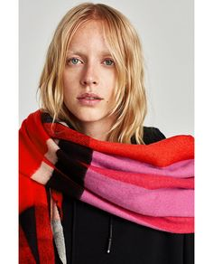 Discover the new ZARA collection online. The latest trends for Woman, Man, Kids and next season's ad campaigns. Plaid Blanket Scarf, Cotton Scarf, Animal Print Scarf, Zara New, The Blushed Nudes, Oversized Scarf, Summer Scarves, White Mini Dress, Long Scarf