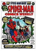 Spider-Man Comics Weekly #1. Marvel UK. #SpiderMan #Thor #MarvelUK
