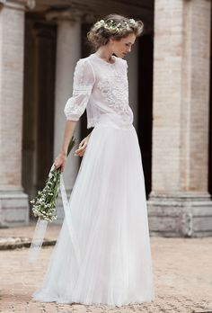 Alberta Ferretti Ah, Alberta. We could fill an entire Pinterest board exclusively with your gowns, and this embroidered bodice takes for the cake for its fairy-tale appeal.