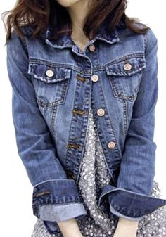 Denim jacket…a must for every closet:)