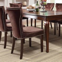 Acme Furniture Kingston Dining Side Chairs - Set of 2 - 60024