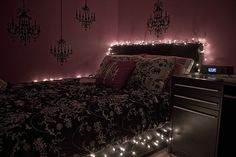Ok, If only I could find where this came from, this is def what I want for my bed.