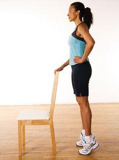 Pointes de pieds http://www.plaisirssante.ca/ma-sante/forme/4-exercices-pour-raffermir-le-bas-de-votre-corps?slide=5 #fitness
