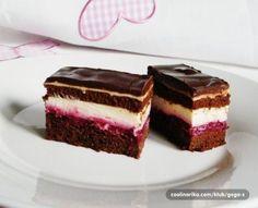 Sumski kolac - kombinacija najfinijih sastojaka - My site Baking Recipes, Cookie Recipes, Dessert Recipes, Food Cakes, Cupcake Cakes, Kolaci I Torte, Raw Cake, Torte Cake, Croatian Recipes