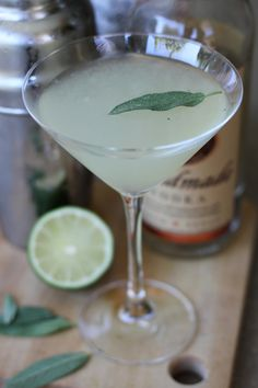 Sage Advice - a refreshingly delicious vodka cocktail! Vodka Cocktails, Alcoholic Drinks, Beverages, Cocktail Ideas, Cocktail Drinks, Martini, Sage, Laundry, Food And Drink