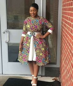 16 Charismatic / Irresistible Ankara Styles For Women - African Fashion Best African Dresses, Latest African Fashion Dresses, African Traditional Dresses, African Print Dresses, African Print Fashion, African Attire, Best African Dress Designs, Africa Dress, Casual