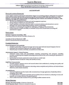 accounting sample resume accounting resume ought to be perfect in any way if you want to make a resume to be an accounting it is very important for you to - Sample Resume Accounting