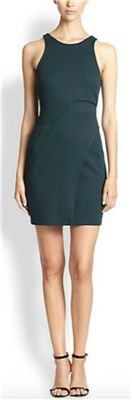 Bailey 44 - Stretch Jersey Draped Dress: This contemporary dress is one of our favorites for the holiday season. It's simple stretch jersey and clean lines make it a perfect choice for the office party.