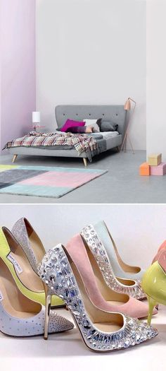 Pastels for Your Home and Closet - The Interior Collective Classic Furniture, Furniture Styles, Pastel Interior, Small Space Living, Living Spaces, I Love Fashion, Fashion Design, Spring Trends, Shabby Chic Style