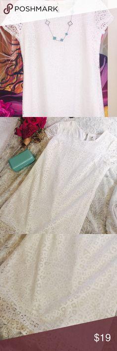 Lace Up Crochet Lace Dress White Crochet Lace Dress Forever 21 Dresses Midi