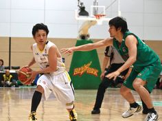 Getting the job done: Link Tochigi Brex guard Yuta Tabuse (left) is averaging 15.1 points and 5.8 assists per game. He has played in all 48 games this season after coping with an assortment of injuries in past campaigns.