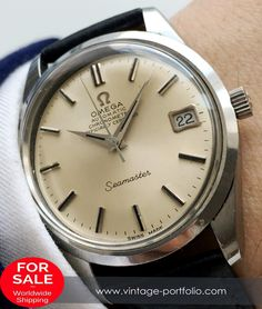 luxury watches for beginners Omega Seamaster Chronometer, Omega Seamaster Automatic, Omega Speedmaster, Swiss Luxury Watches, Luxury Watches For Men, Old Watches, Vintage Watches, Omega Railmaster, Watches Photography