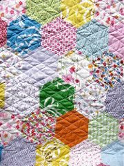 { quilted hexies }