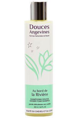 Au Bord de la Rivière, shampooing douche bio très doux peaux délicate et tous types de cheveux - Douces Angevines cosmétiques