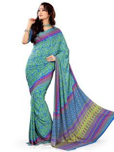 Latest designer zara sarees look into it..  http://www.ethnicqueen.com/