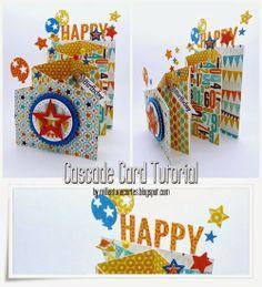 http://WhoLovesYou.ME | Birthday card ideas - Mille et une cartes...: Tutorial/Tutoriel  #birthdaycards diy