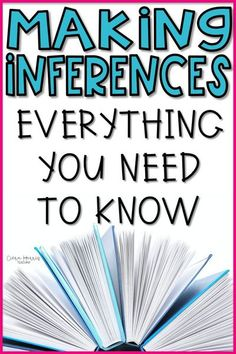 Looking for some new making inferences activities? Click the pin to check out this post, full of tips and ideas for new activities that will help your elementary students in first and 2nd grade understand inferring on a deeper level. Inference Activities, Reading Activities, Reading Comprehension Strategies, Teaching Strategies, Help Teaching, Teaching Reading, Making Inferences, Mentor Texts, Readers Workshop