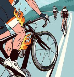 Por AC Shilton Seu corpo não é um templo, é uma máquina. Não qualquer máquina, é o supercomputador mais complexo do mundo, um funcionamento interno com uma complexidade desconcertante. E se você já… Cycling Girls, Cycling Art, Road Cycling, Cycling Quotes, Cycling Jerseys, Bmx, Velo Retro, Pocket Bike, Upcycle