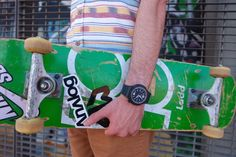 When your watch tells you it's time to skate with style