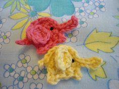 Crochet Tiny Elephants - Free Pattern