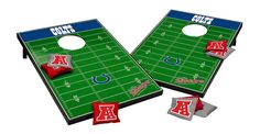 Hey Colts fans, here is your customized football corn hole toss game, with product details, team info, and link to the Indianapolis Colts fan shop! http://footballcornholetoss.com/indianapolis-colts-corn-hole-toss