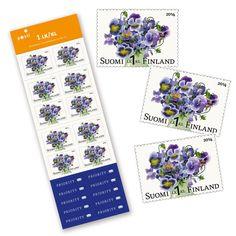 Orvokki-postimerkit