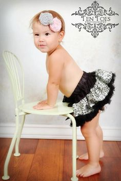 Ready to ship Black and White Leopard Print by ILuvUTutuMuch,
