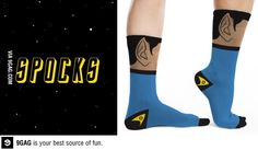 Spocks... I can't believe this is a thing. Heh. Spocks. :)