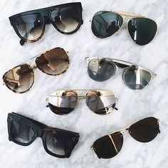 4509c9246204f Difícil escolher né  Todos são lindos 😍  oticaswanny Oculos De Sol