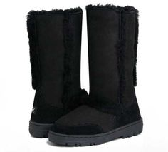 UGG Sundance II 5325 Boots Black - Click Image to Close