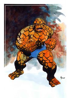 The Thing by Mike McKone