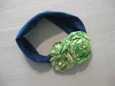 Matching headband for baby girl peasant dress #1